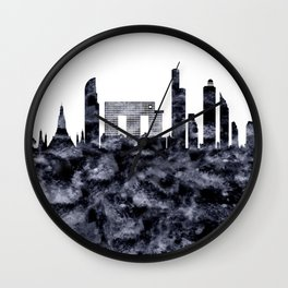 Bangkok Skyline Thailand Wall Clock