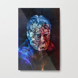 Christopher Hitchens Metal Print
