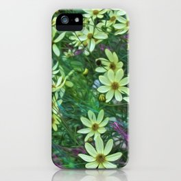 Whimsical Yellow Daisies iPhone Case