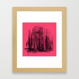 Invisible Cities #03 Framed Art Print