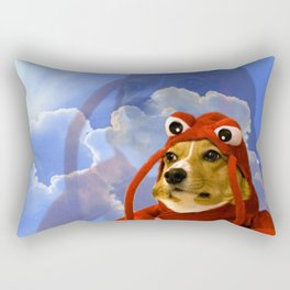 Lobster Corgi Rectangular Pillow