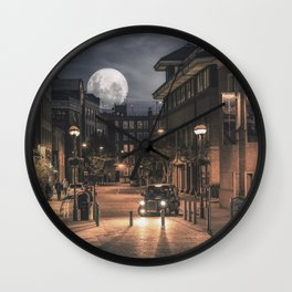 Harvest moon, London - United Kingdom Wall Clock