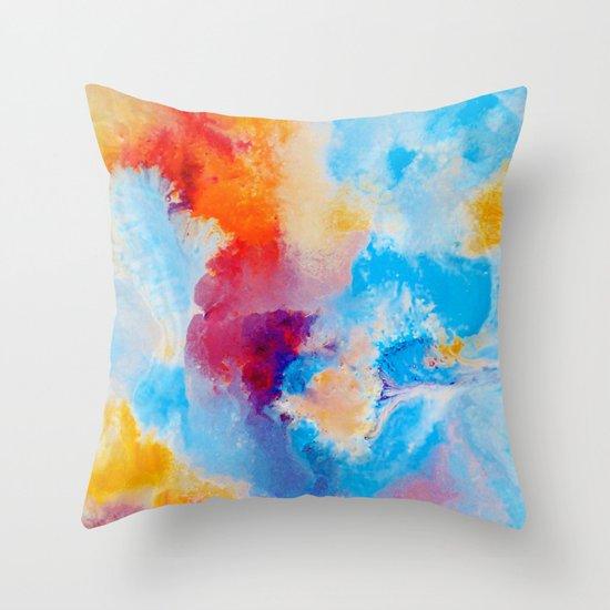 Meld Throw Pillow