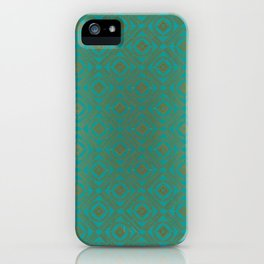 Pattern_Gold iPhone Case