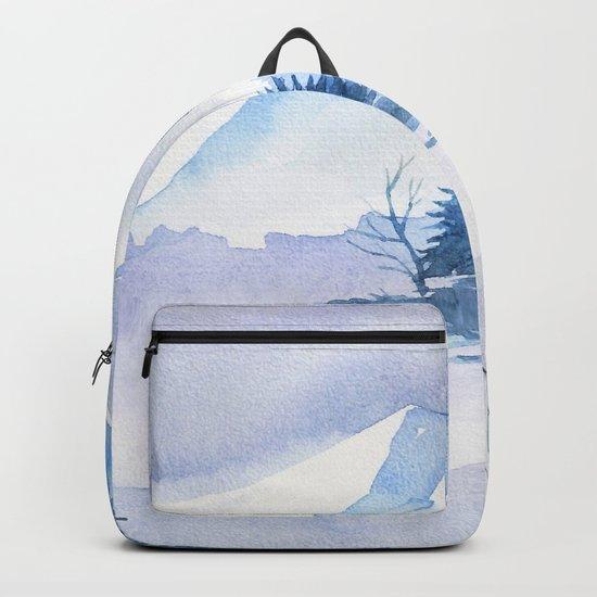 Winter scenery #2 Backpack