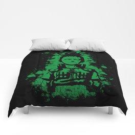 shikamaru grunge Comforters