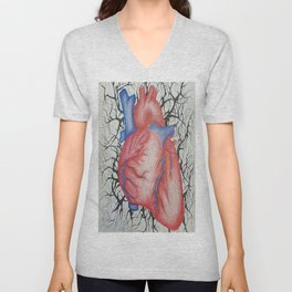 the muscle that feels Unisex V-Neck