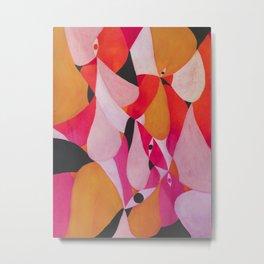 Abstract human landscape Metal Print