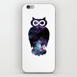 Super Cosmic Owlfinity iPhone Skin