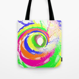 Whirlpool of Colour Tote Bag