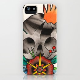 Skull of Unnamed Fear iPhone Case