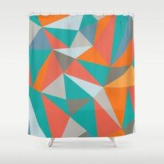Summer Deconstructed Shower Curtain