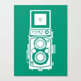 Yashica Mat 124G Camera Emerald Canvas Print