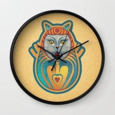 Gato diabólico  Wall Clock