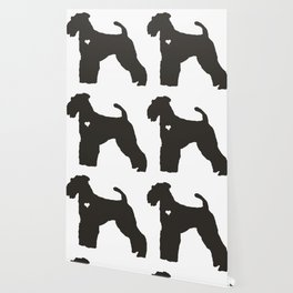 My Airedale Terrier Heart Belongs To You Wallpaper