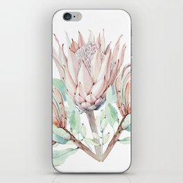 Protea #society6 #buyart iPhone Skin