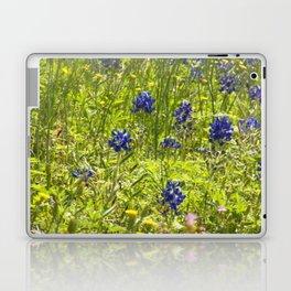 Texas Bluebonnets Laptop & iPad Skin