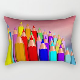 time to draw a picture -1- Rectangular Pillow