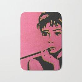 AUDREY POP gold and pink Bath Mat