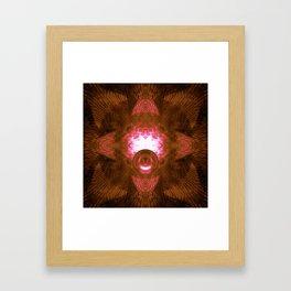 Reflections on Inner Space Framed Art Print