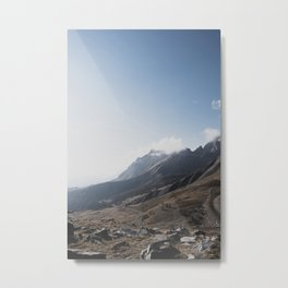 Sunrise in the Alps Metal Print