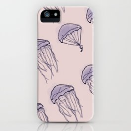 Jellyfish Parachutes iPhone Case