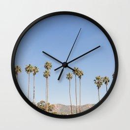 On California Time Wall Clock