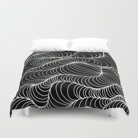 Warped Duvet Cover