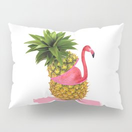 Flamingo party Pillow Sham