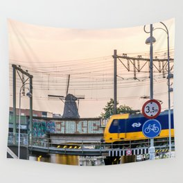 Sunrise Commute Wall Tapestry