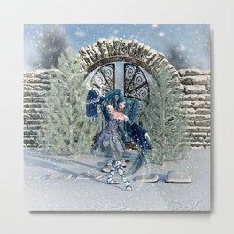 Winter Sprite Metal Print