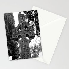 Celtic gravestone Stationery Cards