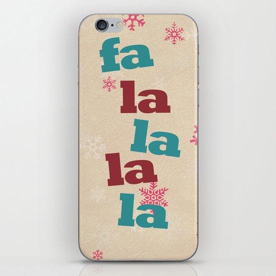 fa la la la la iPhone & iPod Skin