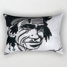 """""""Keef"""" Richards Rectangular Pillow"""