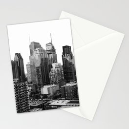 Montreal Québec, Canada City Skyline Downtown Stationery Cards