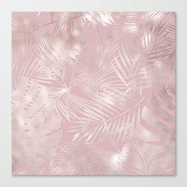 Rose Gold Shine Canvas Print