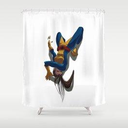 Shadowcat Shower Curtain