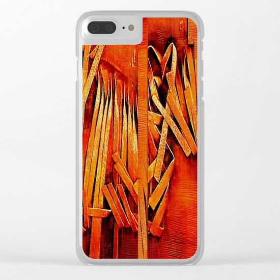 Wind In Your Hair Clear iPhone Case
