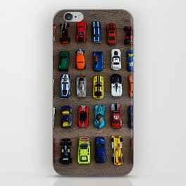 1980's Toy Cars iPhone Skin