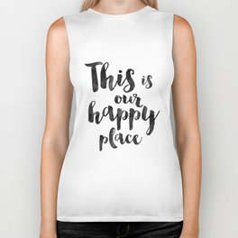 OUR HAPPY PLACE, This Is My Happy Place,Living Room Decor,Home Decor,Home Gifts,Home Sign,Bedroom De Biker Tank