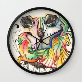 colorskull Wall Clock