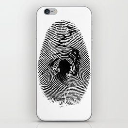 Mark of a great detective iPhone Skin