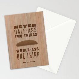 Whole-Ass One Thing Stationery Cards