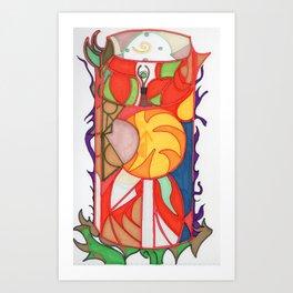 sunshine in a cup Art Print