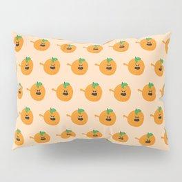 Vulgar Fruit // Obscene Orange Pillow Sham