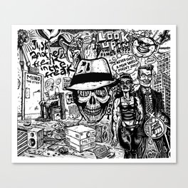 Freak Power Canvas Print