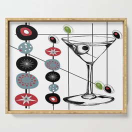 Mid-Century Modern Art Atomic Cocktail 3.0 Serving Tray