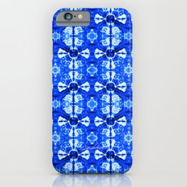 It's Bloomin' Blue iPhone Case