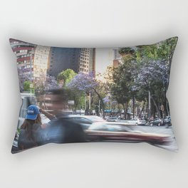 Moving World Rectangular Pillow
