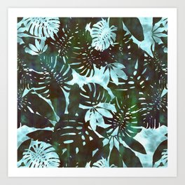 Motuu Tropical Minty Green Art Print